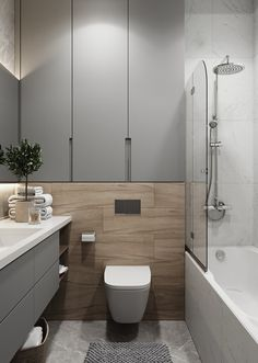 Contemporary bathrooms 356347389267754220 - contemporary bathroom design Source by Contemporary Bathroom Designs, Modern Bathroom Design, Bathroom Interior Design, Bad Inspiration, Bathroom Inspiration, Wc Design, Bad Styling, Small Toilet, Bathroom Toilets