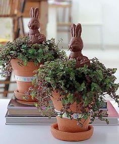 Ideias criativas para a Páscoa...