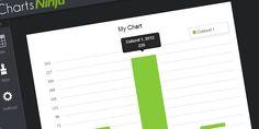 http://chartsninja.com/ - Un sito web che ci permette di creare grafici (a barre, a torte, di qualsiasi genere) inserendo semplicemente i dati da utilizzare. Tag: statistiche, stats, online, ninja