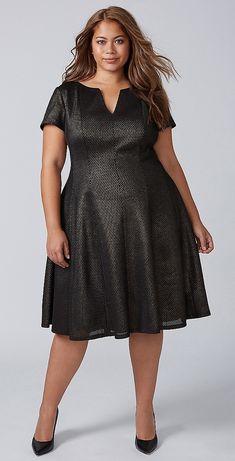 Plus Size Party Dress - Plus Size Cocktail Party Dress #plussize