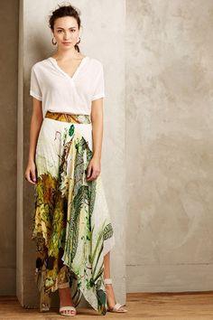 Old Vine Midi Skirt - #anthrofave