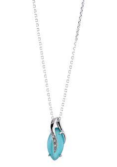 Parure chaîne et pendentif argent avec imitation pierres précieuses vert et zirconium blanc #bijoux #boucles #bijouterie #jeandelatour_officiel #bijoutier #bijouxfemme #bijouxcreateur #mode #collier
