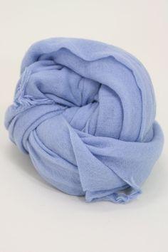 Chan Luu Cashmere Silk Scarf in Cashmere Blue