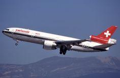 Swissair McDonnell-Douglas DC-10-30 (registered HB-IHO)