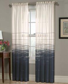 "Homewear Thurston Stripe 52"" x 108"" Panel - Blue"