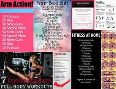 7 Anytime Anywhere Full Body Workouts