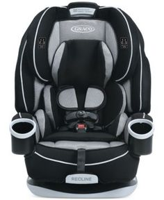 Graco Baby 4Ever All-in-One Car Seat - Black