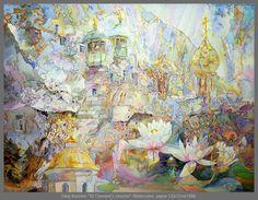 Visionary watercolors by Oleg Korolev, visionary art, mystical realism, fantastic realism - Paintings by Oleg Korolev