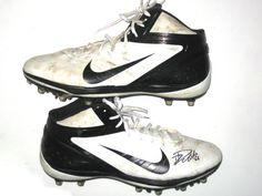 David DeCastro Pittsburgh Steelers Rookie Game Worn & Signed Nike Cleats