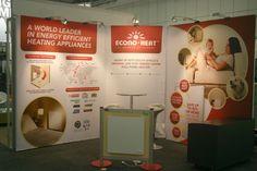 Econo Heat - 3m x 3m Corner Stand  Green Building Council Exhibition