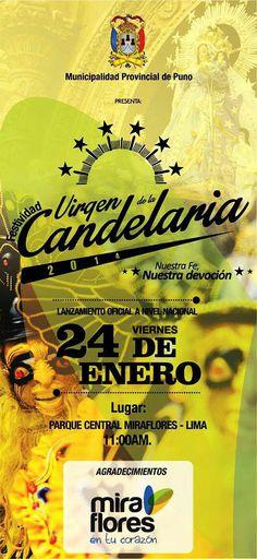 Presentación de la Festividad de la Virgen de la Candelaria 2014 en Lima