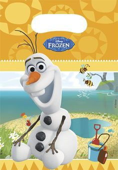 Parti Beta - Frozen Olaf Parti Çantası #disney #frozen #olaf #parti #party
