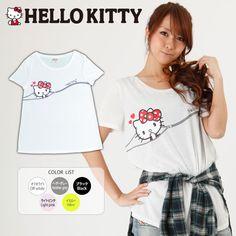 Hello Kitty adorable shirt. Get it at Rakuten Global Market