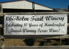 2367 Usener Rd., Fredericksburg, TX 7862  (830) 990-2675  www.chisholmtrailwinery.com  Nine miles West of Fredericksburg on Hwy 290 West, 2.4 miles south on Usener Road. Come experience our unique, laid-back, country atmosphere while enjoying a glass or tasting of our premium Texas wines in a saloon style tasting room. Our new restaurant, The Oval Oven at Chisholm Trail Winery, featuring wood-fired gourmet pizza is now open Fri-Sun noon-6!