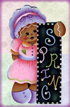 Bunnys Easter Egg Painting EPattern by GingerbreadCuties on Etsy