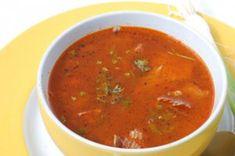 Gulaschsuppe à la Sacher (Rind) Sacher, Austrian Recipes, Soup Crocks, Goulash, Soup Recipes, Crockpot, Salsa, Mexican, Cooking