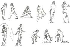 28 Best Gesture drawing examples images in 2019 | Sketches