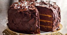 Spoil the family with this luscious layered chocolate and salted caramel cake.
