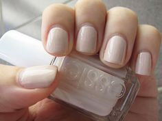 Essie Topless & Barefoot - My FAVORITE nail color of all time!