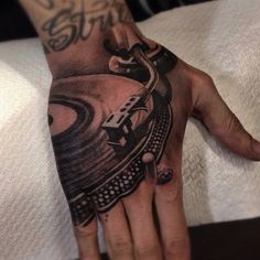 gramophone music tattoos egodesigns