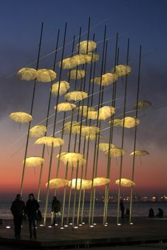 Seafront of Thessaloniki, Greece