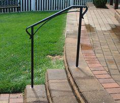 The Cheapest Exterior Stair Handrail - Money-Saving Ideas - YouTube