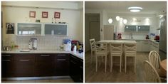 kitchen before and after Ayelet Shtain interiors