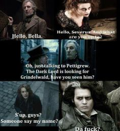Sweeney Todd / Harry Potter