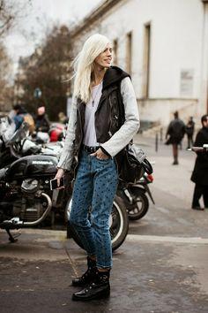 In the spotlight: Isabel Marant polka dot jeans