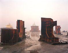 shipwreck - Burtynsky
