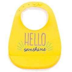 Bella Tunno Hello Sunshine Wonder Bib ..hello sunshine baby!