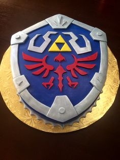 Hylian Shield groom'