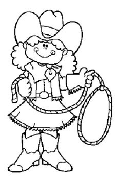 Cowboys and Indians Coloring Pages | Cowboy Coloring Pages - Coloringpages1001.com