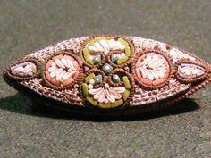 Micro Mosaic Pin Made in Italy