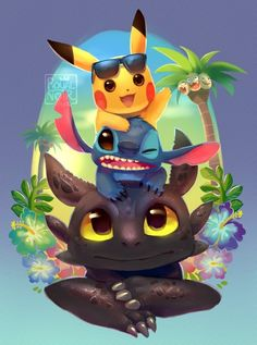 Read Chimuelo, Stitch y Pikachu from the story Fondos de pantalla by Tu-Monster with 813 reads. Cute Pokemon Wallpaper, Disney Phone Wallpaper, Cute Cartoon Wallpapers, Wallpaper Iphone Cute, Kawaii Disney, Anime Kawaii, Disney Art, Cute Disney Drawings, Kawaii Drawings