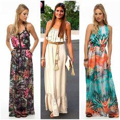 vestidos longos para baixinhas - Pesquisa Google