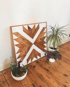 Reclaimed Wood Wall Art, Wood Wall Art, Wood Art, Wood Wall Decor, Pallet Art - For the Home -