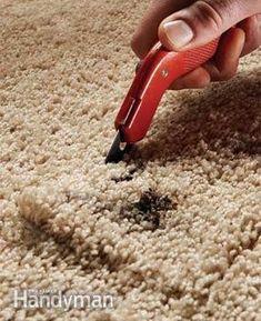 32 Best Carpet Repair Images Diy