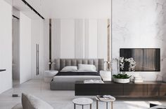 Excellent modern bedroom designs are readily available on our website. Modern Bedroom Design, Master Bedroom Design, Contemporary Bedroom, Home Bedroom, Bedroom Wall, Bedroom Decor, Bedrooms, Bedroom Designs, Home Interior