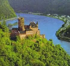 Castles on the Rhine, Germany Stayed at this one!