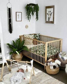 baby boy nursery room ideas 672514156835291108 - 48 kreative Baby Kinderzimmer Dekor Ideen Source by livewithlessde Baby Nursery Decor, Nursery Design, Babies Nursery, Boho Nursery, Baby Nursery Neutral, Nursery Room Ideas, Baby Ideas For Nursery, Simple Baby Nursery, Hipster Nursery
