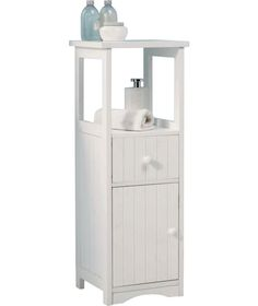 Buy Tongue And Groove Drawer Storage Unit White At Argos Co Uk