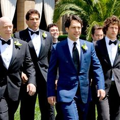 Because of this movie I am in love with blue suits, especially this one.