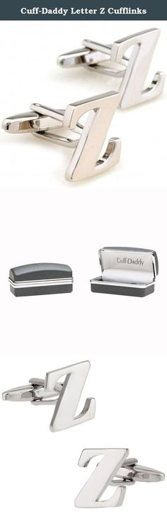 Cuff-Daddy Letter Z Cufflinks. Nothing is more personalized than initial cufflinks. We carry all letters of the alphabet, but these are for a pair of letter A cufflinks. A perfect set if you'd like to highlight your last name. If you'd like 2 different letters, we are happy to oblige, afterall we're Cuff-Daddy. (Just search for product CD-1792 and add your choice of initials in the comments field when checking out.)These arrive in a nice gift box and make a thoughtful present for anyone.