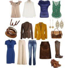 Capsule wardrobe - Polyvore