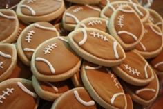 Football Tailgate Party Cookie Favors -