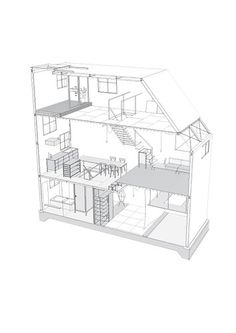 Architecture House Sketch modern home architecture sketches | joigoo   all about the house