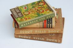 Antique BOY Scout Books Book For Boys Lot of by TheNewtonLabel, $59.00 #adventure #books #scouts #boy