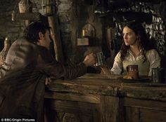 Down(ton) and dirty! Jessica Brown Findlay swaps polite society for a group of murderous wreckers in Jamaica Inn
