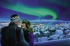 Awesome Deal right now on Iceland Air Northern-lights-Reykjavik-Iceland